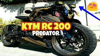 World's First Fully Modified KTM RC 200 By Eugene Saysay | Part 1