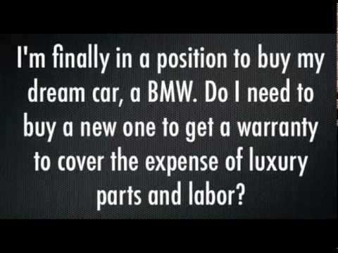 Bmw Extended Warranty >> Bmw Extended Car Warranty Youtube