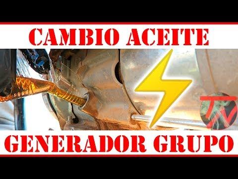 Cambiar Aceite Generador Mantenimiento Grupo 💡⚡️
