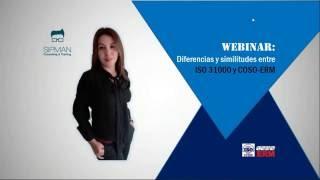 Diferencias y Similitudes entre ISO31000 y COSO ERM