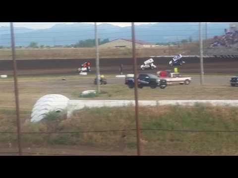 July 8, 2016 Gallatin Speedway Heat Race