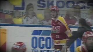 Peter Forsberg förbannad på Börje Johansson 1994