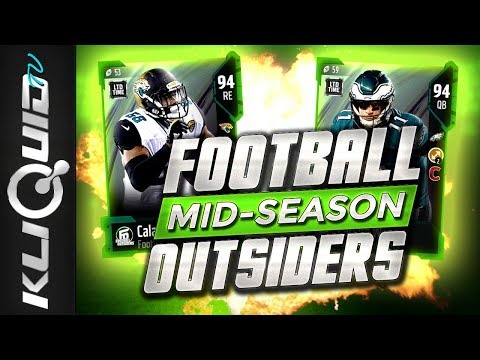 MID-SEASON FOOTBALL OUTSIDERS in Madden 18 Ultimate Team! LIMITED TIME CARSON WENTZ 94 OVR!