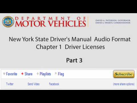new york state driver s manual audio format chapter 1 driver