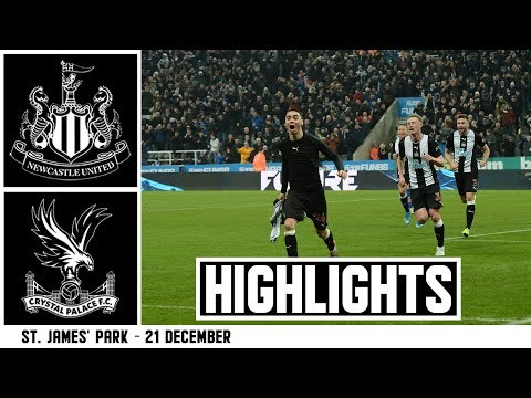 MIGUEL ALMIRÓN SCORES! Newcastle United 1 Crystal Palace 0: