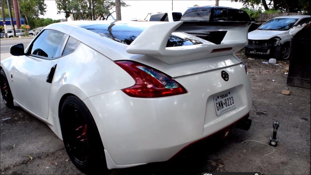 Nissan 370z Nismo Spoiler