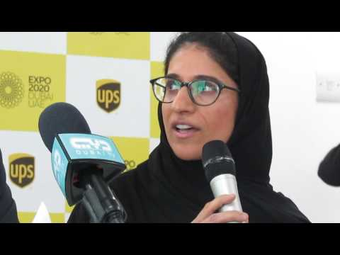 MARJAN FARAIDOONI, from Expo 2020 Dubai addresses the Press