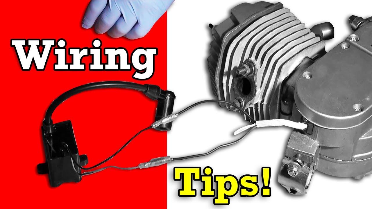 Push Start Wiring Diagram Turn Signal Flasher Problem Bicycle Engine Kit Tips Troubleshooting - Youtube