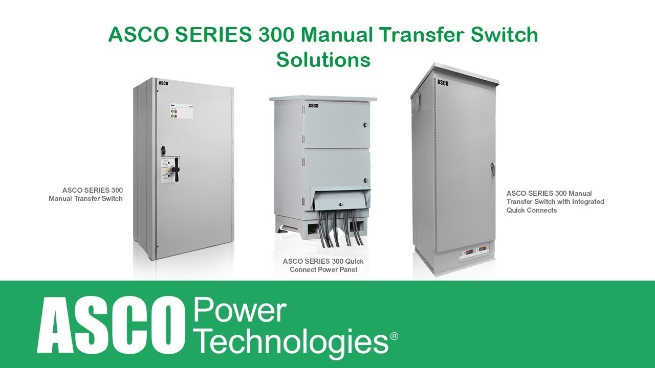 asco 300 transfer switch manual