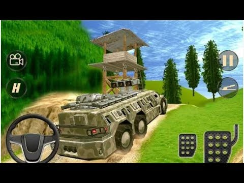 6x6 Off-Road Army Truck Driver - Android...