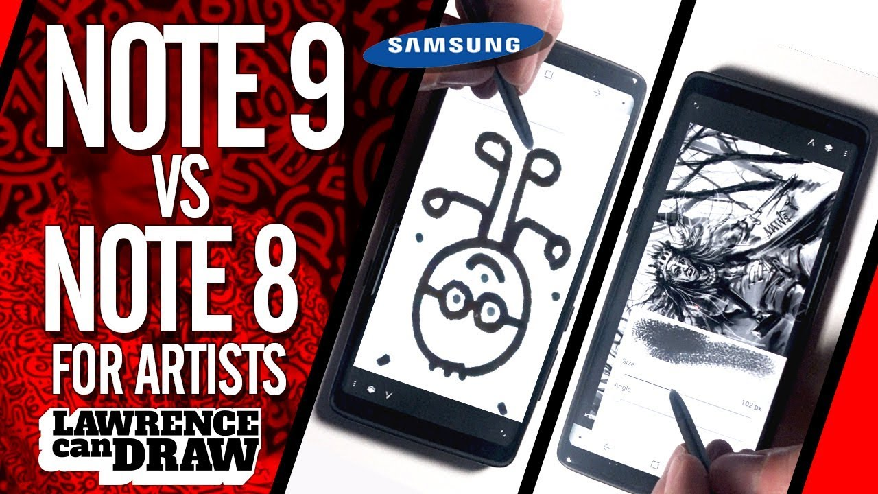 Samsung Note 9 Vs Note 8 For Artists