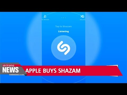 Apple confirms purchase of music recognition app Shazam
