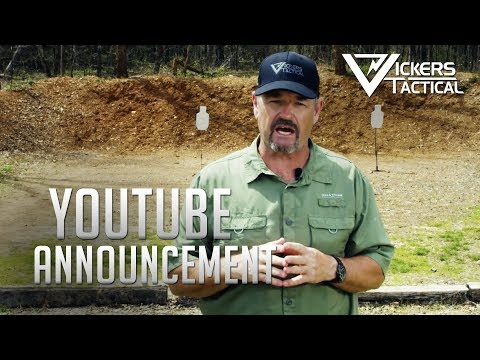 Vickers Tactical Youtube Announcement