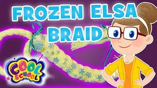 ❄️DIY FROZEN ELSA BRAID ❄️Frozen Crafts ❄️Craft Carol ❄️Crafts for Kids ❄️DIY Costume for Kids