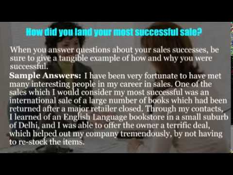 Sales administrator interview questions