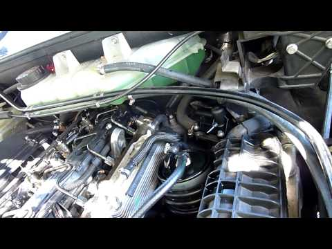 Mercedes ML270 fuel system air leak fix pt2