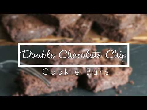 Double Chocolate Chip Cookie Bar