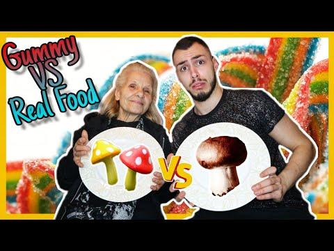 Gummy VS Real Food | Tsede The Real