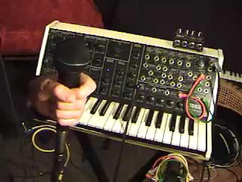 The Korg MS-20: