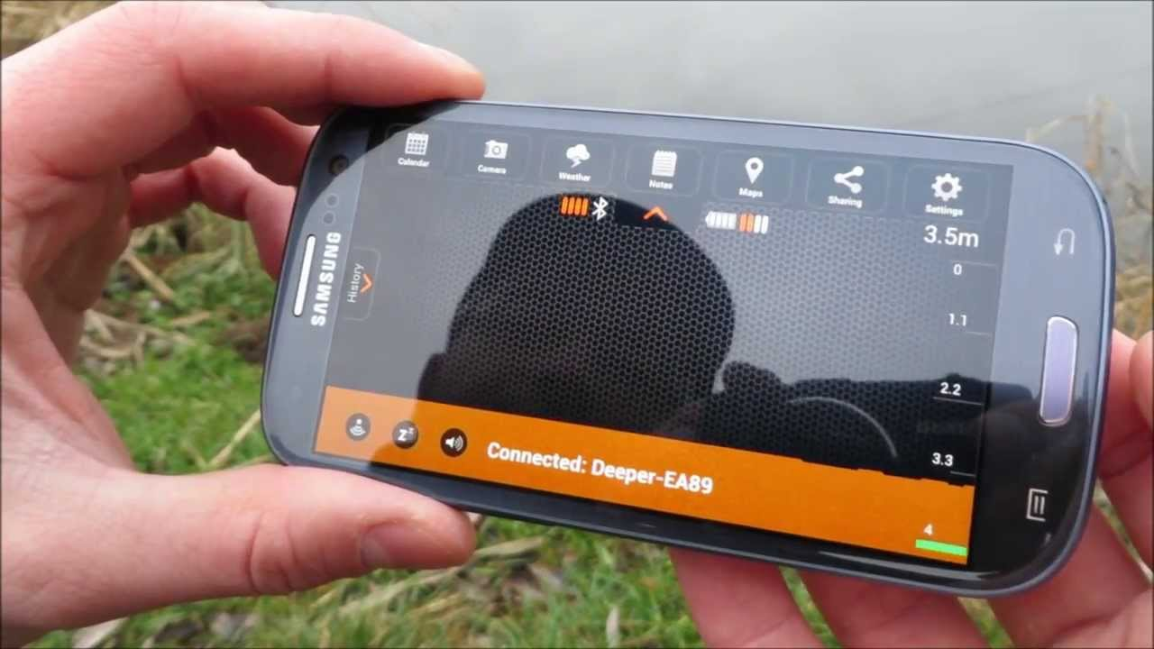 videorecenze: deeper smart fishfinder - youtube, Fish Finder