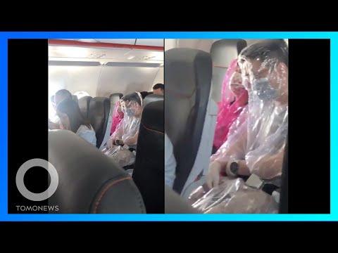 Pasangan pakai kostum plastik untuk lindungi diri; India bangun tembok Ahmedabad - TomoNews