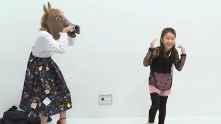 2017年新ハロプロ研修生・松原ユリヤと元℃-ute・岡井千聖によるバンビー...