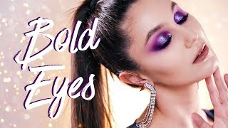 Bold Eye Makeup & HOW TO Improve Your Eyeshadow Game ✔️ Karima McKimmie