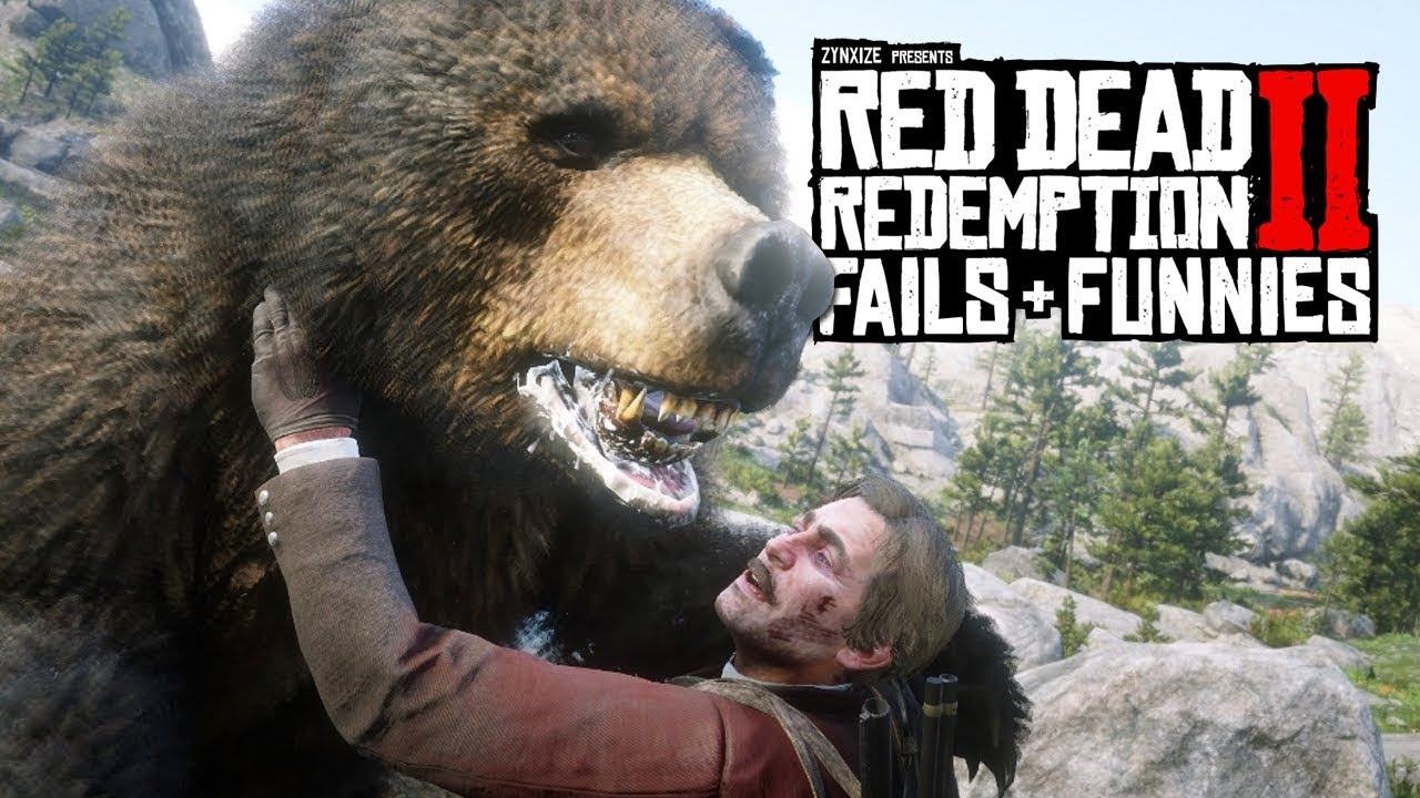 Red Dead Redemption 2 - Fails & Funnies #123 thumbnail