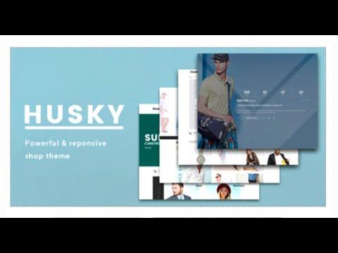 Husky - Responsive Shopify Template - eCommerce ThemeForest - shopify template