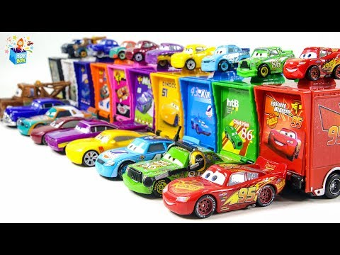 Learning Color disney pixar cars city Vehicle mack truck parking Play funny video for kids Mp3