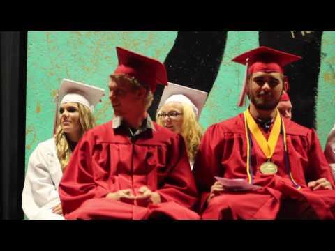 Tuscumbia High School graduation 2017