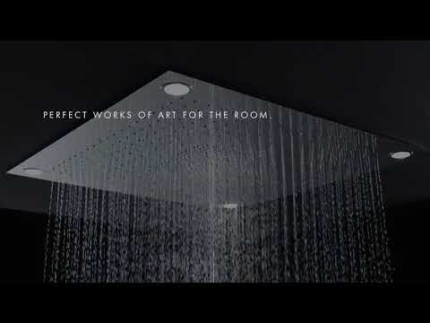 AXOR Showers Avantgarde in the shower - YouTube