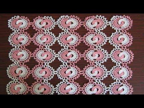 Японские салфетки крючком со схемами