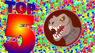 Agar.io Top 5 EPIC Team With ArcadeGo Fans! (Agario Best Moments)