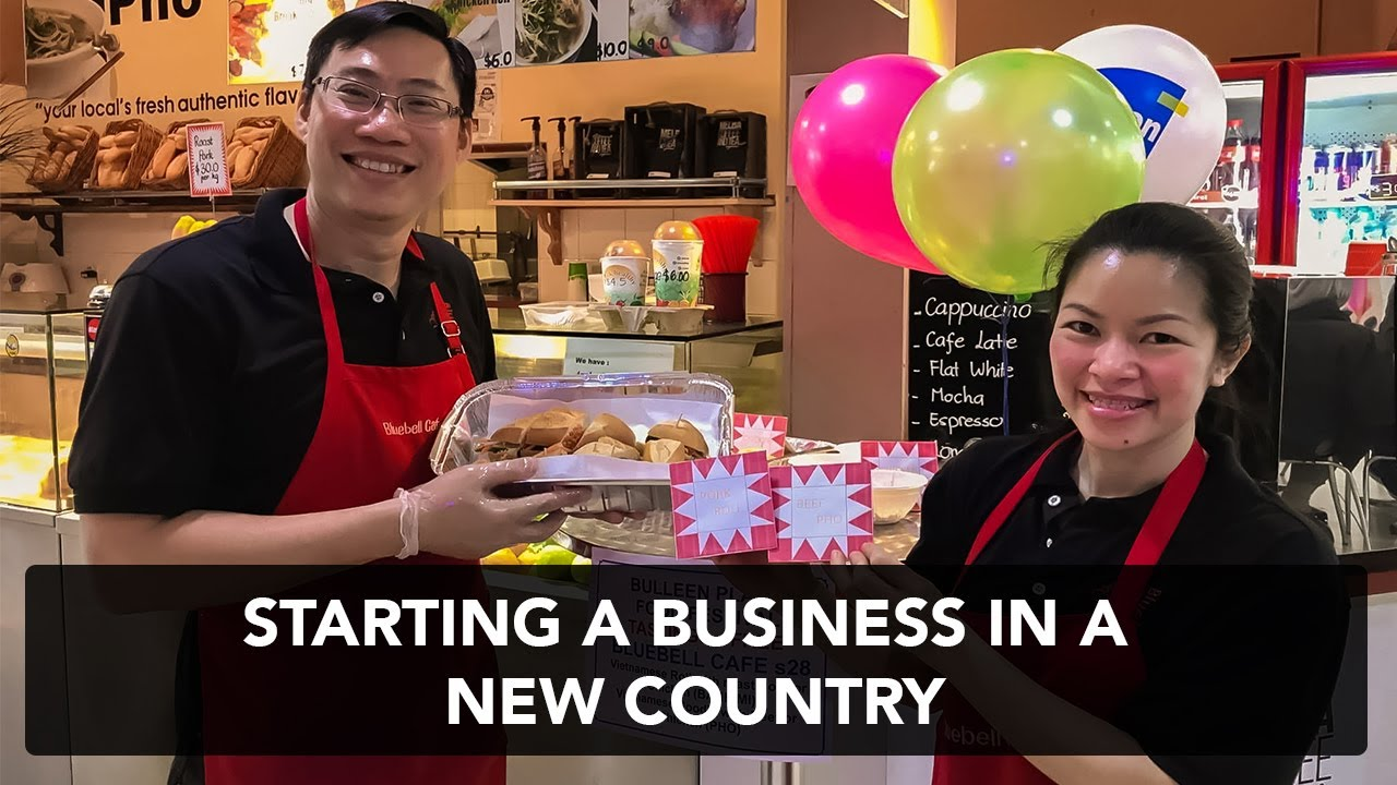 Starting a business in a new country