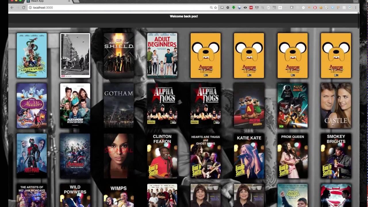 Homebrew Video Player using ReactJS and VideoJS