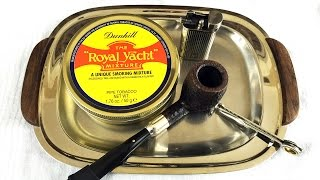 "Pipe Tobacco Review: Dunhill ""Royal Yacht"""