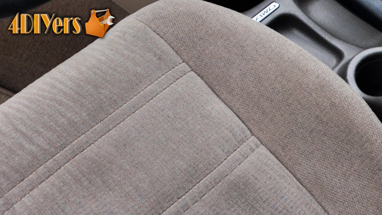 DIY Automotive Upholstery Shampooing