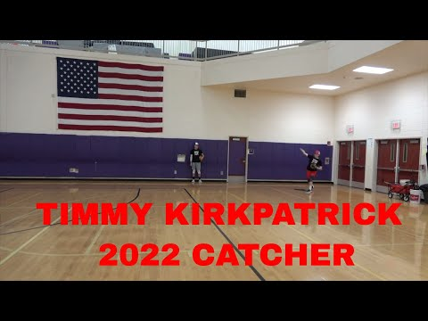 TIMOTHY KIRKPATRICK CATCHER MONROE WOODBURY CLASS OF 2022