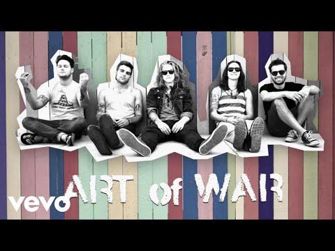 We The Kings - Art Of War (Lyric Video)
