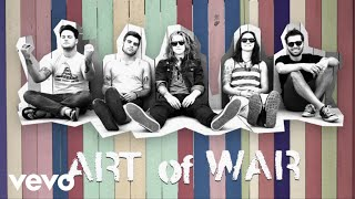 We The Kings - Art Of War (Lyric Video)