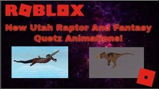 Roblox Dinosaur Simulator - Animazioni di Nuova Fantasia e Raptor dello Utah!