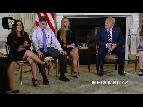 Trump Hosts White House Listening Session With Students, Parents, and Teachers 2/21/18