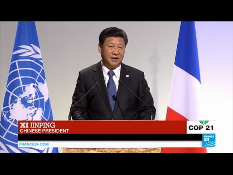 REPLAY - Watch China's president Xi Jinping's address at Paris Climate Conference COP21