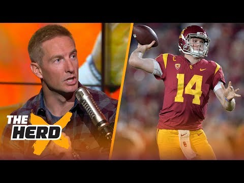 Joel Klatt talks CFB bowl games, paying college players and Sam Darnold's draft stock | THE HERD