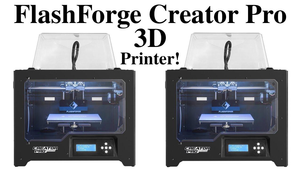 Flashforge Creator Pro 3d Printer Unboxing Best 3d Printer Under