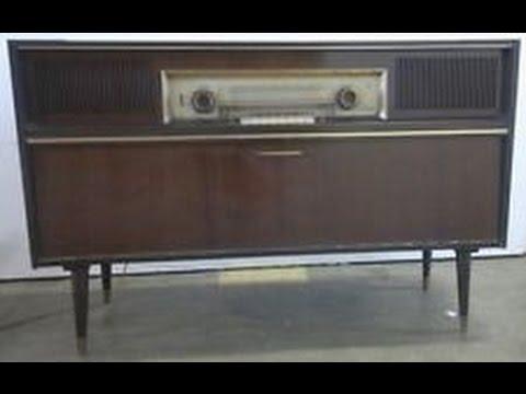 Grundig  Radio Stereo 1960 -- محطة اذاعية في الراديو