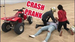 QUAD CRASH PRANK! (Called Rescue Ambulance)