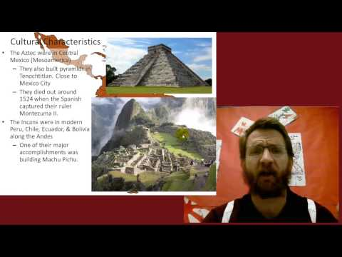 Latin America: Cultural Geography