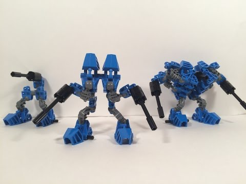 Lego Transformers by M1NDxBEND3R - The Foot Soldiers